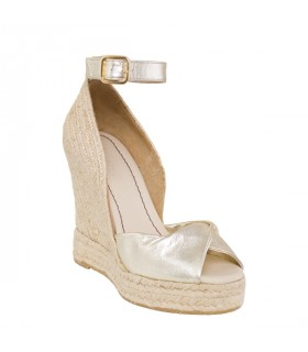 Silver high shell wedge